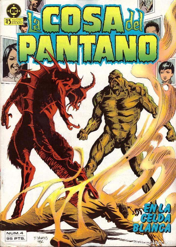 COMIC LA COSA DEL PANTANO, Nº 4 - ZINCO (Tebeos y Comics - Zinco - Otros)