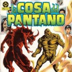 Cómics: COMIC LA COSA DEL PANTANO, Nº 4 - ZINCO. Lote 245723505