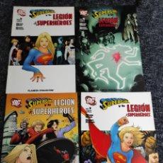 Cómics: SUPERGIRL Y LA LEGION DE SUPERHEROES - LOTE DE 4 EJEMPLARES - Nº 1, 3, 4, 5,. Lote 246034185
