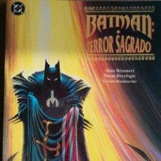 Cómics: BATMAN TERROR SAGRADO. Lote 246062495