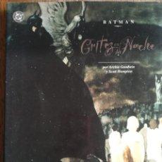 Cómics: BATMAN GRITOS EN LA NOCHE. Lote 246062850