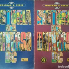 Cómics: HISTORIA DEL UNIVERSO DC. Lote 246065340