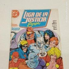 Cómics: LIGA DE LA JUSTICIA EUROPA Nº 1 / EDICIONES ZINCO. Lote 246095445