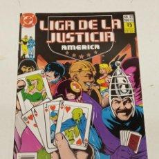 Cómics: LIGA DE LA JUSTICIA AMERICA Nº 37 / EDICIONES ZINCO. Lote 246126035