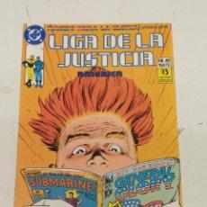 Cómics: LIGA DE LA JUSTICIA AMERICA Nº 40 / EDICIONES ZINCO. Lote 246126175