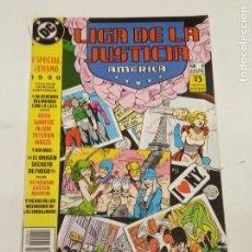 Cómics: LIGA DE LA JUSTICIA AMERICA / ESPECIAL VERANO 1990 / EDICIONES ZINCO. Lote 246126695