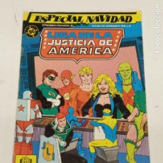 Cómics: LIGA DE LA JUSTICIA AMERICA / ESPECIAL NAVIDAD / EDICIONES ZINCO. Lote 246127040