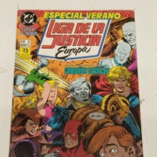 Cómics: LIGA DE LA JUSTICIA EUROPA / ESPECIAL VERANO Nº 1 / EDICIONES ZINCO. Lote 246127160