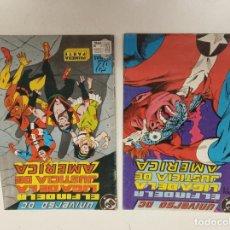 Cómics: UNIVERSO DC 3 Y 4 / EL FIN DE LA LIGA DE LA JUSTICIA DE AMERICA / EDICIONES ZINCO. Lote 246231620