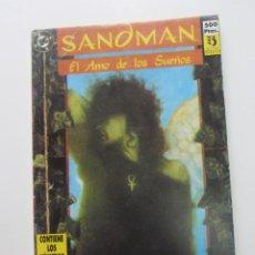 Cómics: SANDMAN - EL AMO DE LOS SUEÑOS - RETAPADO CON NÚMEROS DEL 1 AL 4 - DC / ED. ZINCO ARX73. Lote 246275015