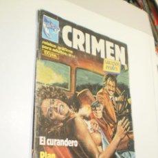 Cómics: CRIMEN Nº 17, ADULTOS. EL CURANDERO. PLAN DIABÓLICO LA MAFIA DEL CEMENTO 1983 (ESTADO NORMAL, LEER). Lote 246282835