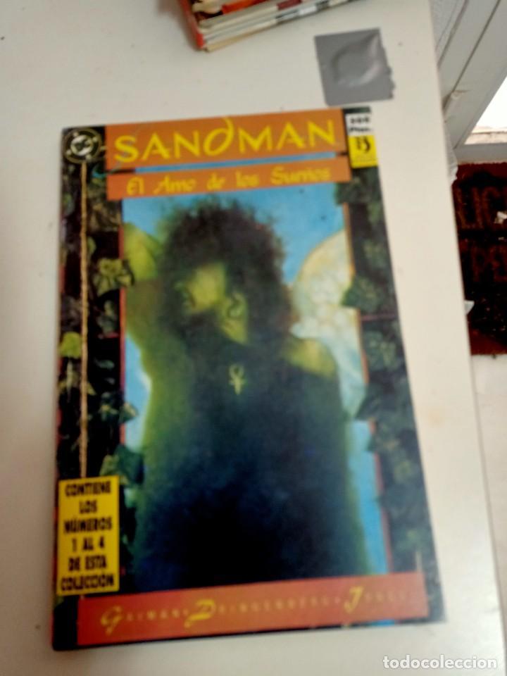 X SANDMAN 1 A 4 (RETAPADO)(ZINCO) (Tebeos y Comics - Zinco - Retapados)