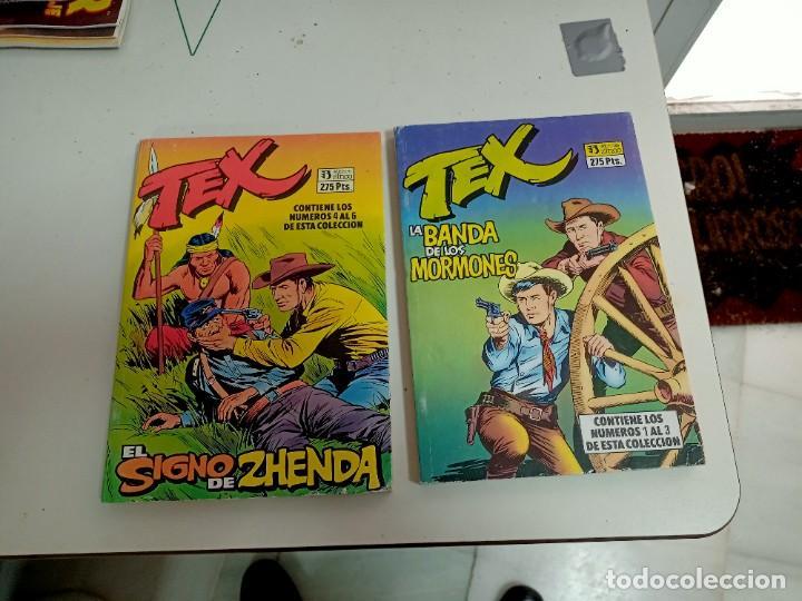 X TEX 1 A 6 (EN 2 RETAPADOS DE 3)(ZINCO) (Tebeos y Comics - Zinco - Retapados)