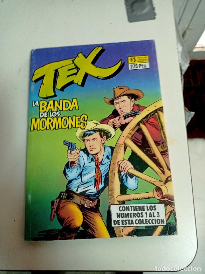 Cómics: X TEX 1 A 6 (EN 2 RETAPADOS DE 3)(ZINCO) - Foto 2 - 246491905