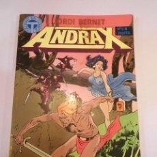 Cómics: RETAPADO 6 COMICS ANDRAX - NUM 1 AL 6. Lote 246501715