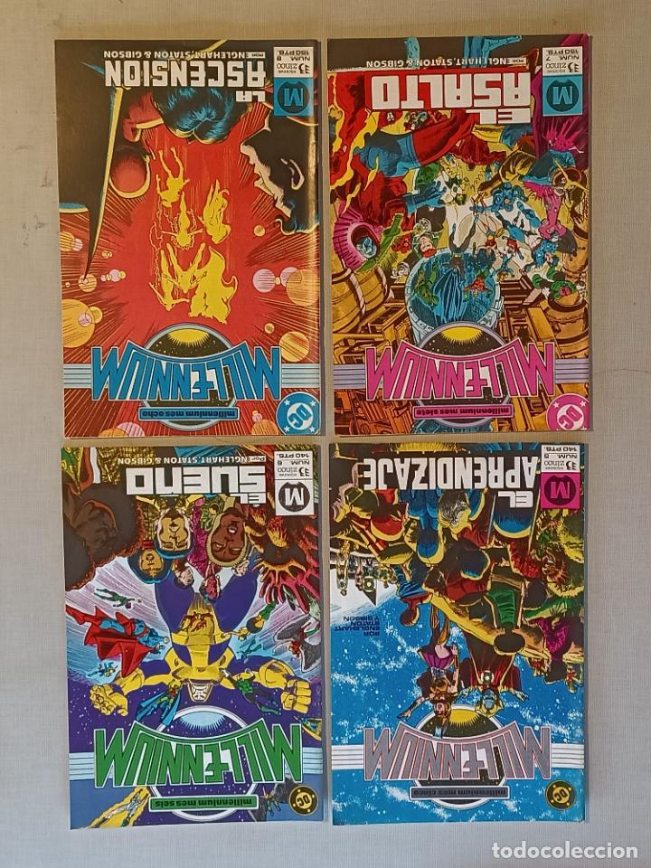 Cómics: MILENNIUM Y ESPECIAL MILENNIUM COMPLETAS EDICIONES ZINCO - Foto 4 - 246713375