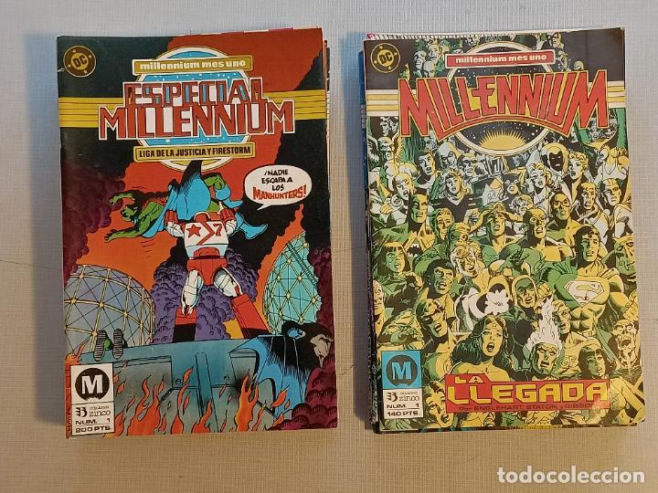 MILENNIUM Y ESPECIAL MILENNIUM COMPLETAS EDICIONES ZINCO (Tebeos y Comics - Zinco - Millenium)