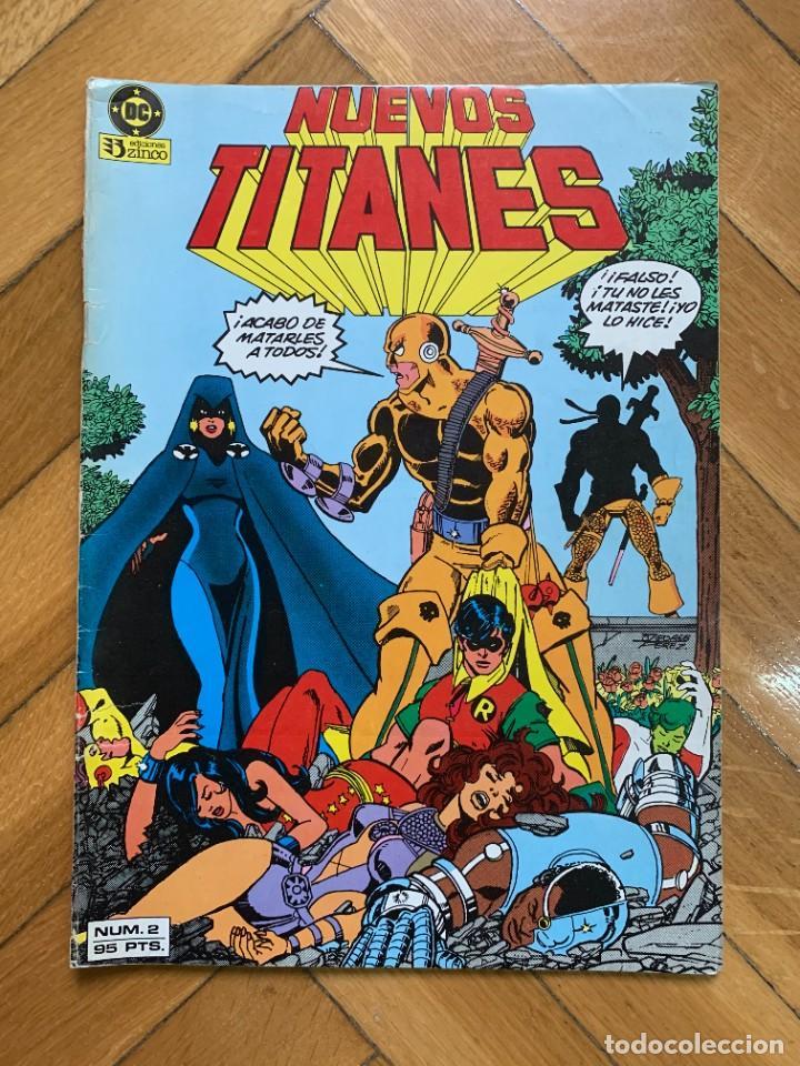 NUEVOS TITANES Nº 2 - DEFECTUOSO (Tebeos y Comics - Zinco - Nuevos Titanes)
