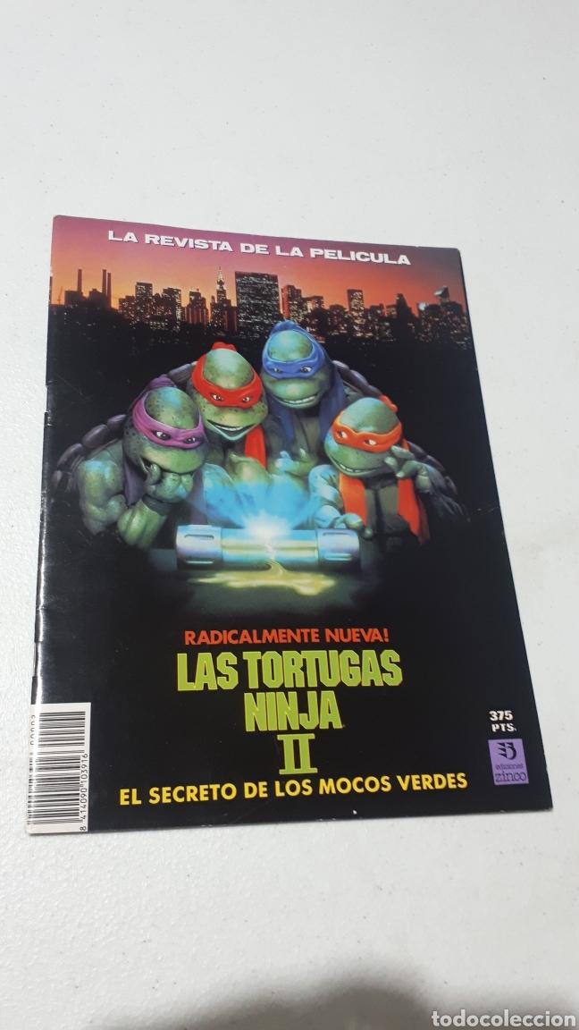 REVISTA DE LA PELICULA LAS TORTUGAS NINJA II EDICIONES ZINCO COMO NUEVA 1991 (Tebeos y Comics - Zinco - Otros)