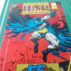 Cómics: LEYENDAS DE BATMAN. N. 23. Lote 247138325