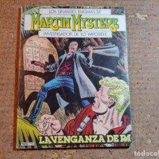 Cómics: COMIC DE LOS GRANDES ENIGMAS DE MARTIN MYSTERE INVESTIGADOR DE LO IMPOSIBLE DEL AÑO 1982 Nº 2. Lote 247169800