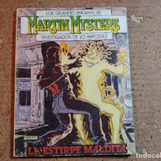 Cómics: COMIC DE LOS GRANDES ENIGMAS DE MARTIN MYSTERE INVESTIGADOR DE LO IMPOSIBLE DEL AÑO 1982 Nº 4. Lote 247170315