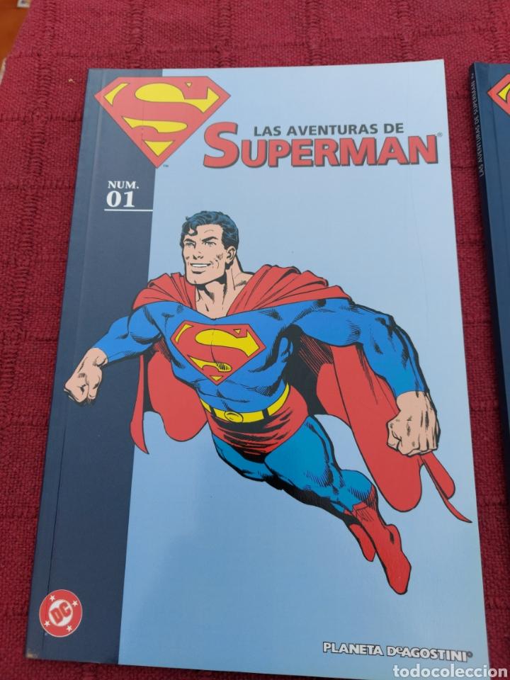 Cómics: SUPERMAN ZINCO-PLANETA DEAGOSTINI -LOTE DE 6 COMIC-KRYPTON- EL HOMBRE DE ACERO-AVENTURAS- HEROE DC - Foto 2 - 247178445