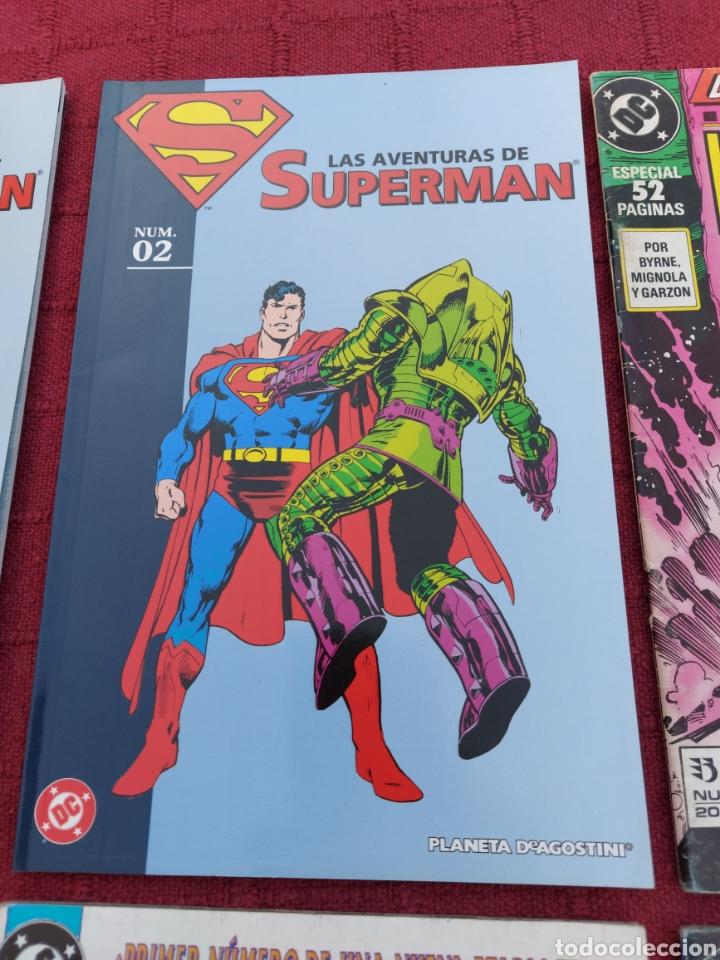 Cómics: SUPERMAN ZINCO-PLANETA DEAGOSTINI -LOTE DE 6 COMIC-KRYPTON- EL HOMBRE DE ACERO-AVENTURAS- HEROE DC - Foto 3 - 247178445