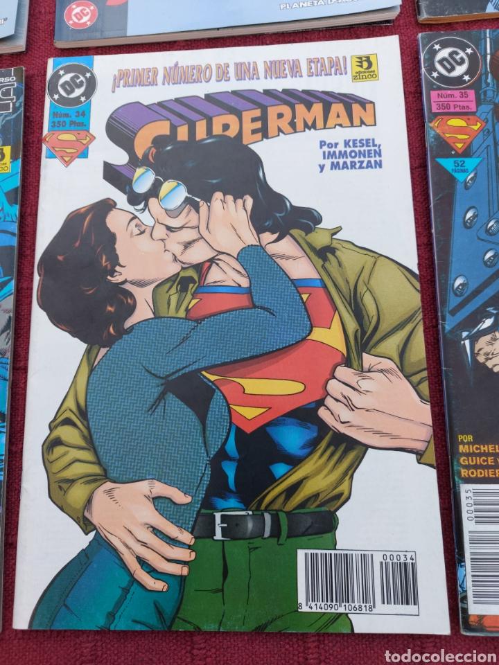 Cómics: SUPERMAN ZINCO-PLANETA DEAGOSTINI -LOTE DE 6 COMIC-KRYPTON- EL HOMBRE DE ACERO-AVENTURAS- HEROE DC - Foto 4 - 247178445