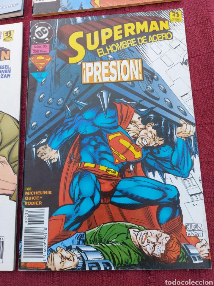 Cómics: SUPERMAN ZINCO-PLANETA DEAGOSTINI -LOTE DE 6 COMIC-KRYPTON- EL HOMBRE DE ACERO-AVENTURAS- HEROE DC - Foto 5 - 247178445