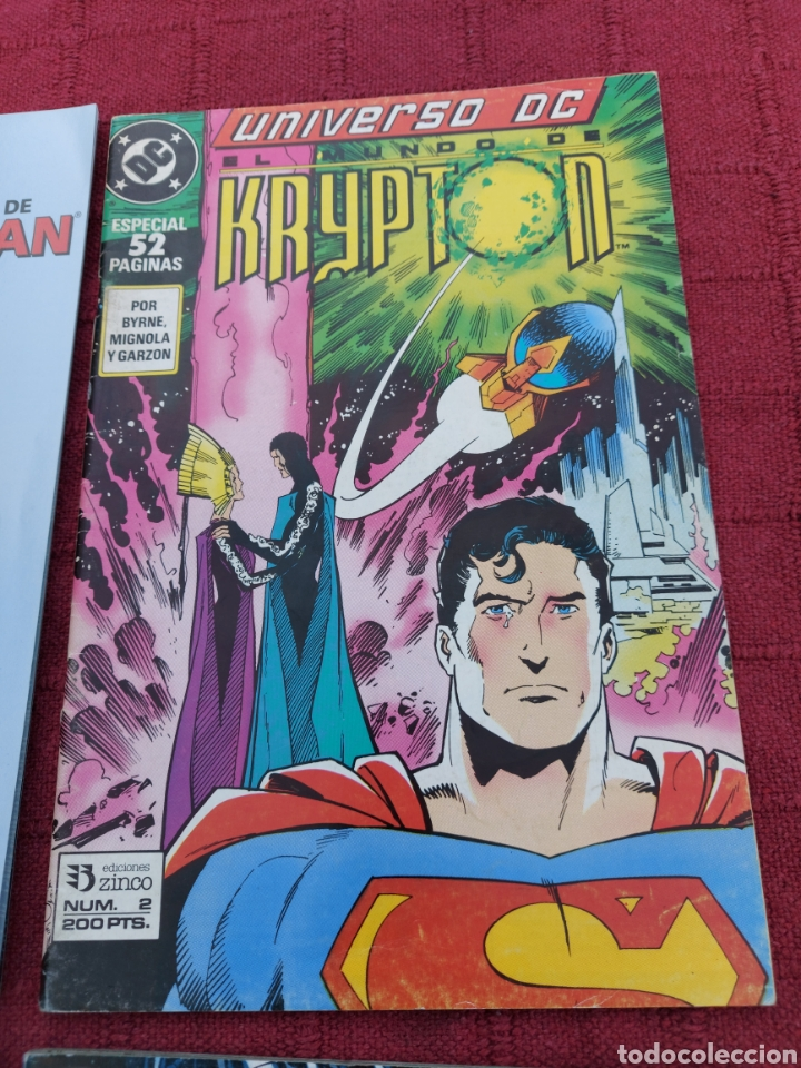 Cómics: SUPERMAN ZINCO-PLANETA DEAGOSTINI -LOTE DE 6 COMIC-KRYPTON- EL HOMBRE DE ACERO-AVENTURAS- HEROE DC - Foto 6 - 247178445