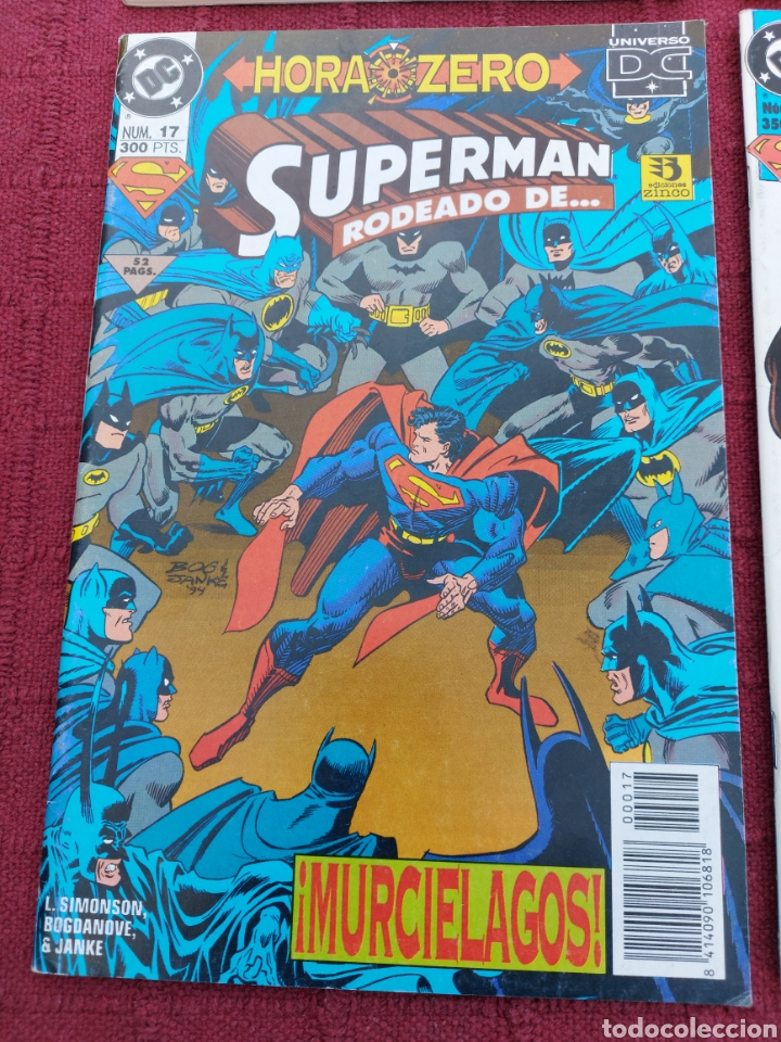 Cómics: SUPERMAN ZINCO-PLANETA DEAGOSTINI -LOTE DE 6 COMIC-KRYPTON- EL HOMBRE DE ACERO-AVENTURAS- HEROE DC - Foto 7 - 247178445