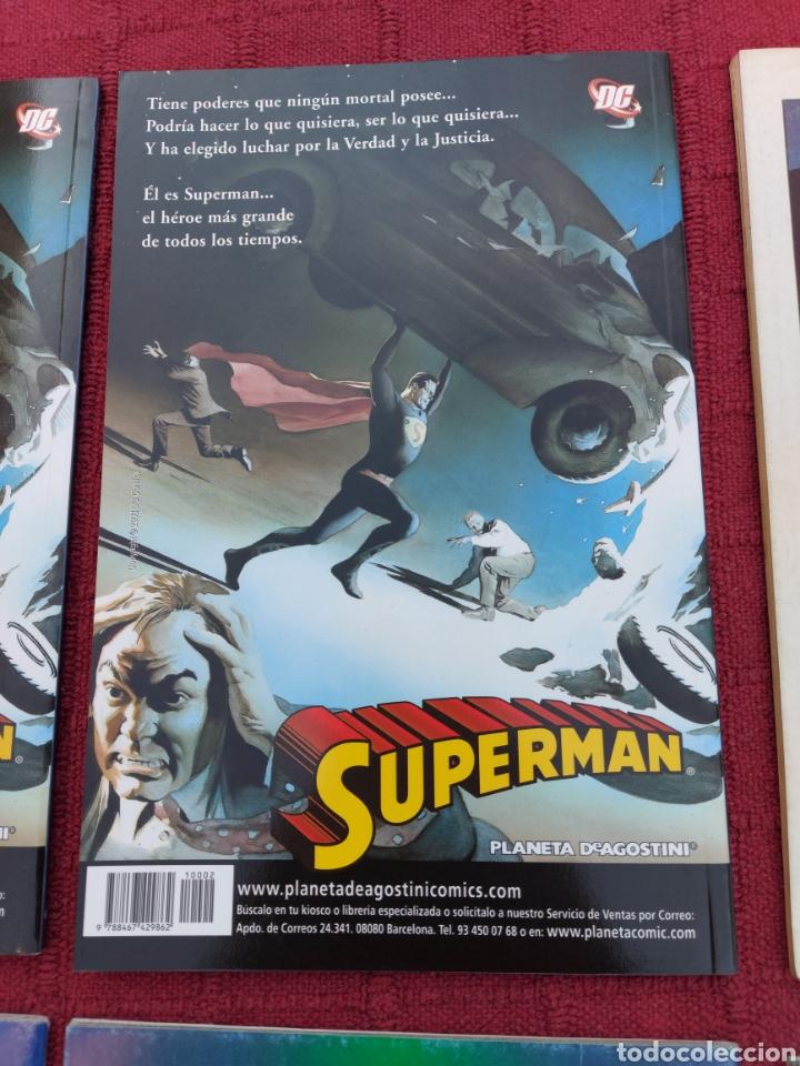 Cómics: SUPERMAN ZINCO-PLANETA DEAGOSTINI -LOTE DE 6 COMIC-KRYPTON- EL HOMBRE DE ACERO-AVENTURAS- HEROE DC - Foto 9 - 247178445