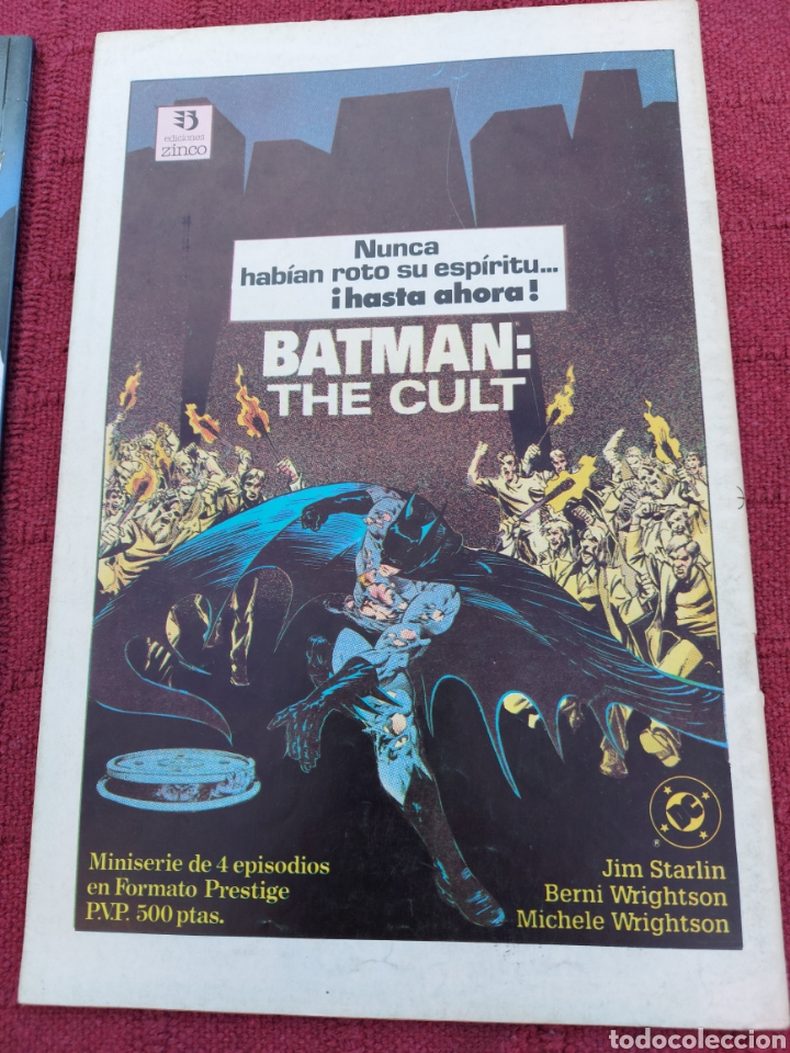 Cómics: SUPERMAN ZINCO-PLANETA DEAGOSTINI -LOTE DE 6 COMIC-KRYPTON- EL HOMBRE DE ACERO-AVENTURAS- HEROE DC - Foto 10 - 247178445