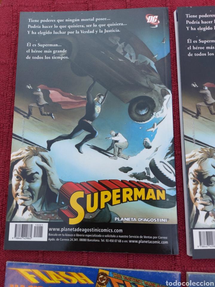 Cómics: SUPERMAN ZINCO-PLANETA DEAGOSTINI -LOTE DE 6 COMIC-KRYPTON- EL HOMBRE DE ACERO-AVENTURAS- HEROE DC - Foto 11 - 247178445