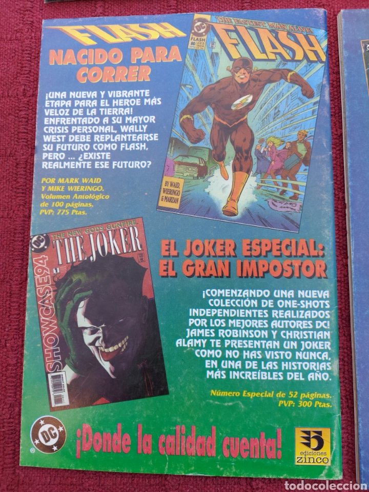 Cómics: SUPERMAN ZINCO-PLANETA DEAGOSTINI -LOTE DE 6 COMIC-KRYPTON- EL HOMBRE DE ACERO-AVENTURAS- HEROE DC - Foto 13 - 247178445