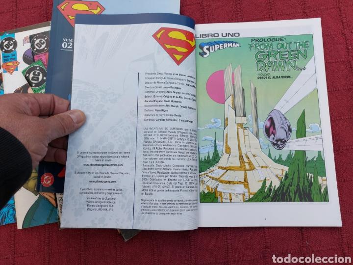Cómics: SUPERMAN ZINCO-PLANETA DEAGOSTINI -LOTE DE 6 COMIC-KRYPTON- EL HOMBRE DE ACERO-AVENTURAS- HEROE DC - Foto 15 - 247178445