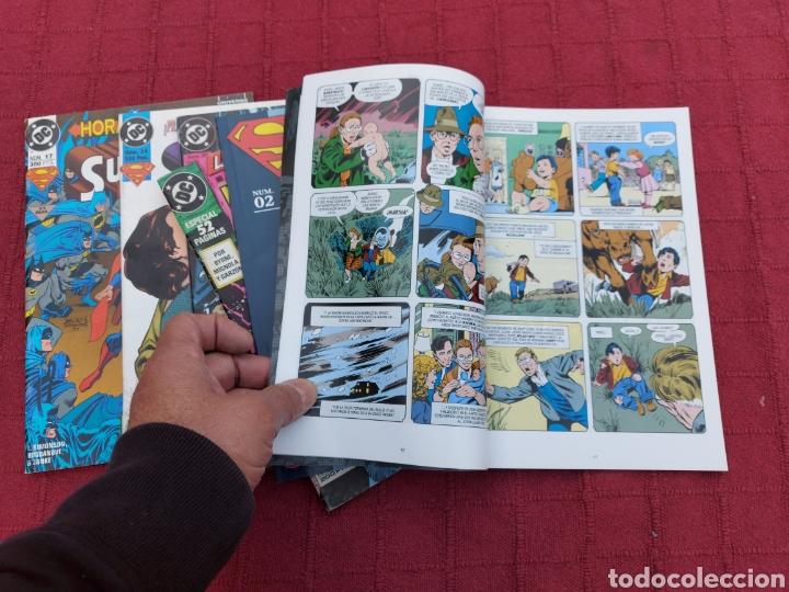 Cómics: SUPERMAN ZINCO-PLANETA DEAGOSTINI -LOTE DE 6 COMIC-KRYPTON- EL HOMBRE DE ACERO-AVENTURAS- HEROE DC - Foto 16 - 247178445