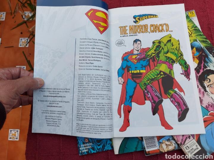 Cómics: SUPERMAN ZINCO-PLANETA DEAGOSTINI -LOTE DE 6 COMIC-KRYPTON- EL HOMBRE DE ACERO-AVENTURAS- HEROE DC - Foto 17 - 247178445