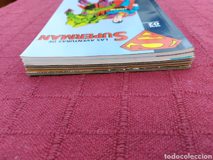 Cómics: SUPERMAN ZINCO-PLANETA DEAGOSTINI -LOTE DE 6 COMIC-KRYPTON- EL HOMBRE DE ACERO-AVENTURAS- HEROE DC - Foto 20 - 247178445