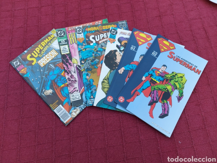 Cómics: SUPERMAN ZINCO-PLANETA DEAGOSTINI -LOTE DE 6 COMIC-KRYPTON- EL HOMBRE DE ACERO-AVENTURAS- HEROE DC - Foto 29 - 247178445