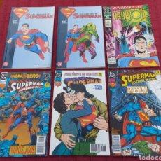 Cómics: SUPERMAN ZINCO-PLANETA DEAGOSTINI -LOTE DE 6 COMIC-KRYPTON- EL HOMBRE DE ACERO-AVENTURAS- HEROE DC. Lote 247178445