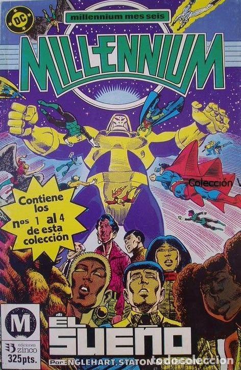 MILLENIUM COMPLETA. 8 NUMEROS EN DOS RETAPADOS. EDICIONES ZINCO. (Tebeos y Comics - Zinco - Millenium)