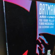 Cómics: BATMAN AÑO UNO DE FRANK MILLER Y DAVID MAZZUCCHELLI (EDICIONES VID). Lote 247662695