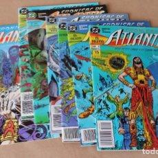 Cómics: CRONICAS DE ATLANTIS 1 2 3 4 5 6 7 COMPLETA - ESTEBAN MAROTO – ZINCO AÑO 1991 - MUY BUEN ESTADO. Lote 247662750