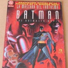 Cómics: BATMAN - LA MASCARA DEL FANTASMA - ED ZINCO, AÑO 1994 - MUY BUEN ESTADO. Lote 247926770