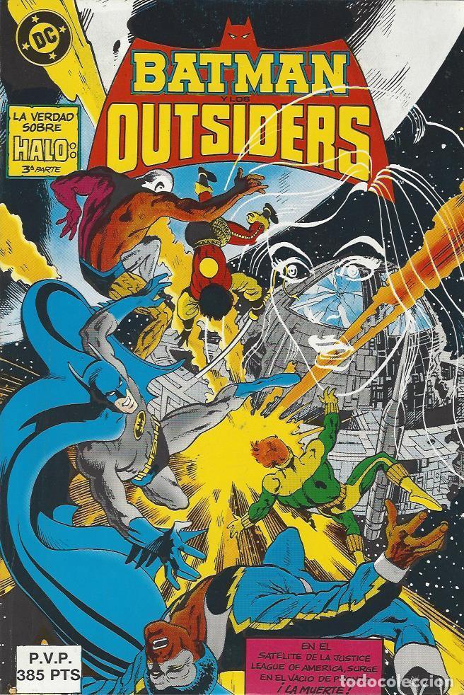 BATMAN Y LOS OUTSIDERS NºS 16 AL 20 - RETAPADO - MUY BUEN ESTADO !! (Tebeos y Comics - Zinco - Outsider)