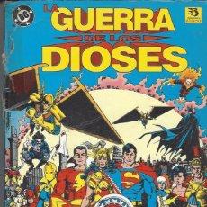 Cómics: LA GUERRA DE LOS DIOSES - TOMO HISTORIA COMPLETA - LOMO DAÑADO. Lote 248466555