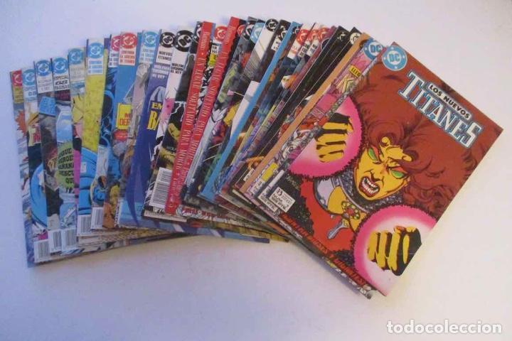 COLECCION DE 30 COMICS: LOS NUEVOS TITANES - EDICIONES ZINCO (Tebeos y Comics - Zinco - Nuevos Titanes)