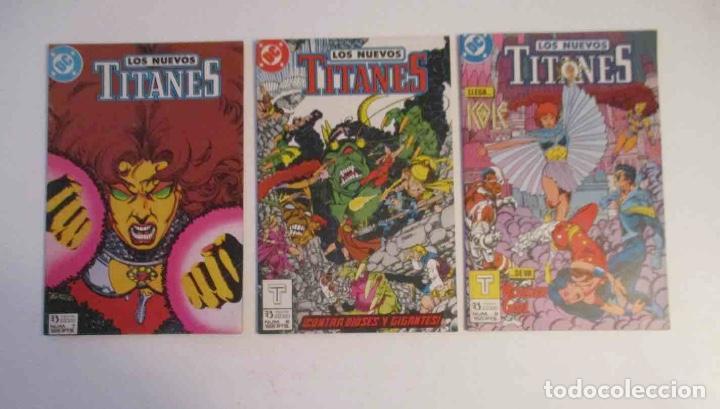 Cómics: COLECCION DE 30 COMICS: LOS NUEVOS TITANES - EDICIONES ZINCO - Foto 2 - 248471365